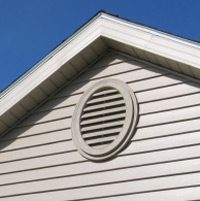 Westchester Attic Mold - Gable Vent